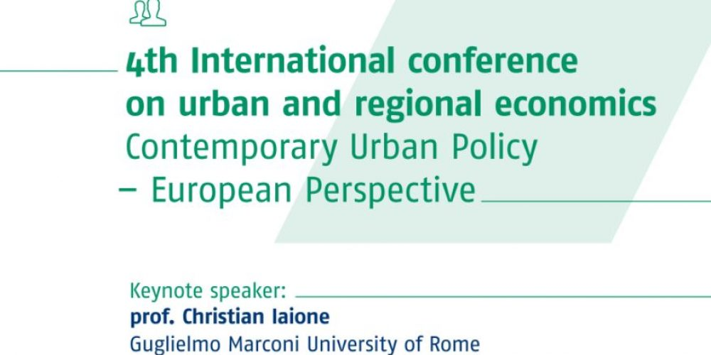 In Poland the 4th International Conference on Urban and Regional Economics