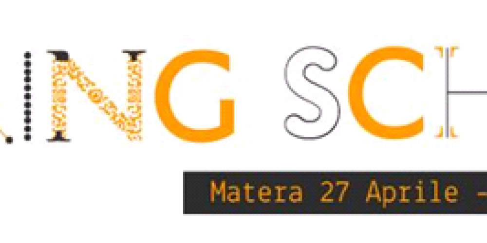 #Sharing School 2016: Matera the way we like it.