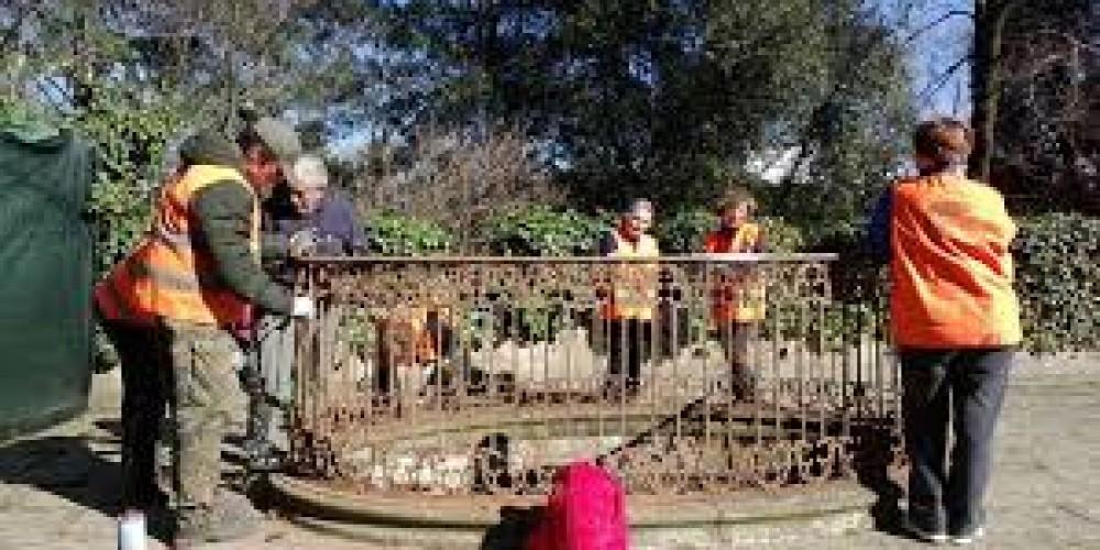 Gli Angeli del bello al parco Stibbert di Firenze