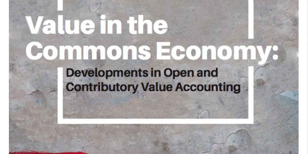 """""""Value in the Commons Economy"""" Report"""