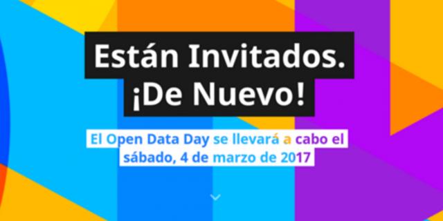 Día de los datos abiertos 2017 – Madrid