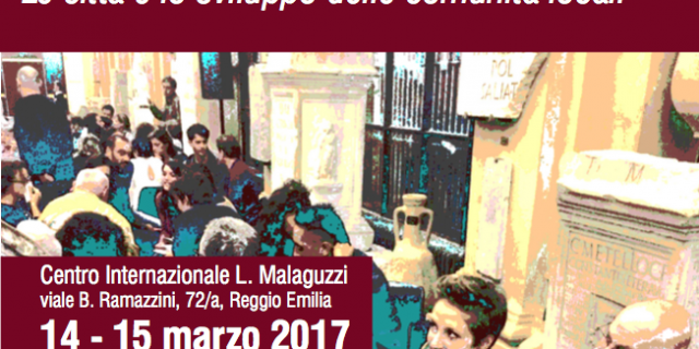 """A 2-days event in Reggio Emilia to discuss """"Social innovation, commons, collaboration models"""""""