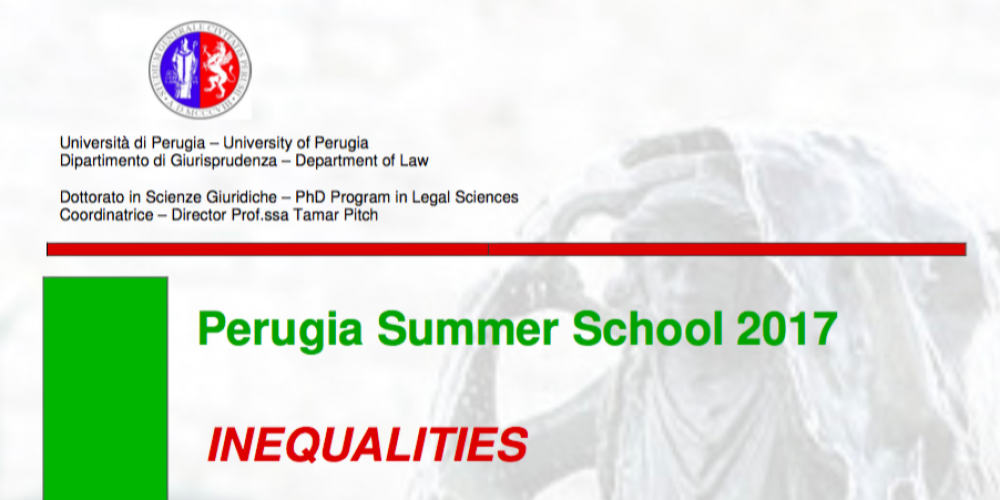Perugia Summer School 2017