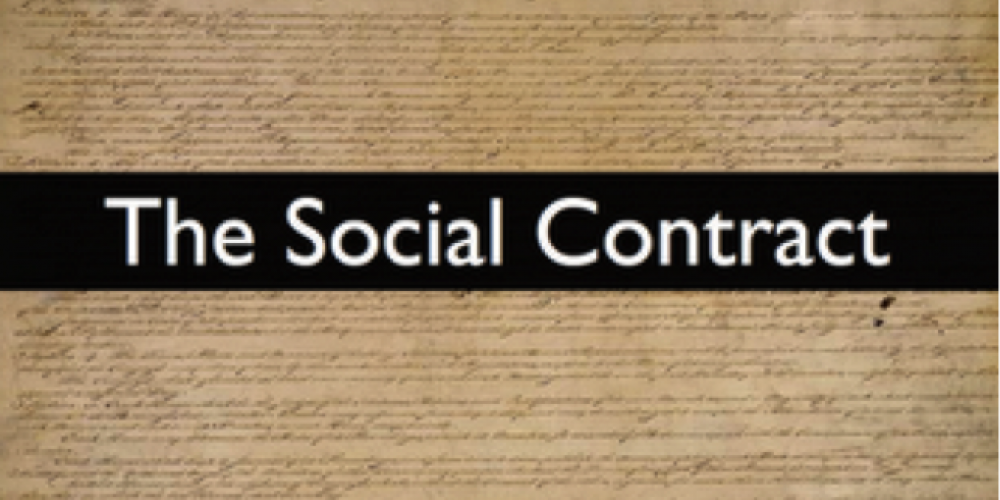 The transition to a world of the Commons corresponds to the establishment of a new social contract