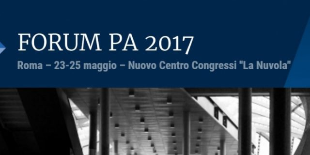 It is time for FORUM PA 2017