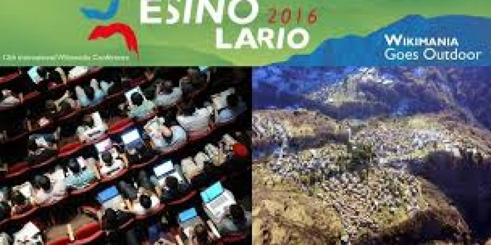 Esino Lario: world capital of 12th international Wikimedia Conference