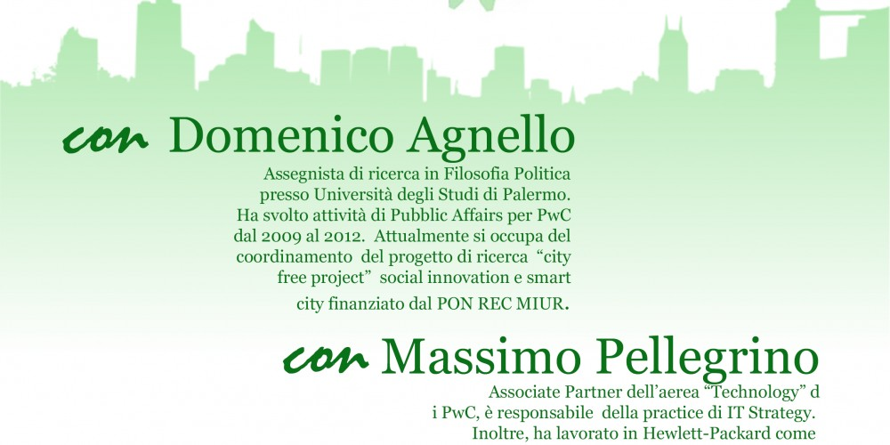 Meeting with D. Agnello and M. Pellegrino – Seminar on Social Innovation
