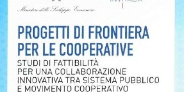 Cooperatives, 8 feasibility studies for innovative projects