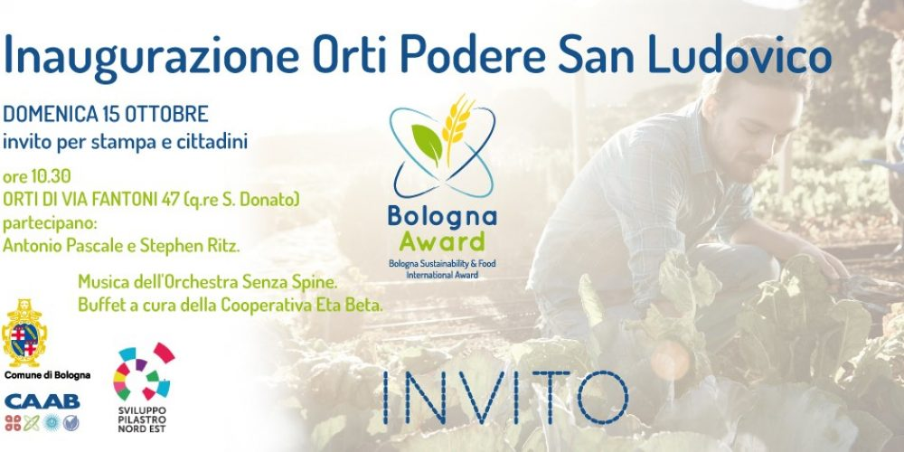 Opening of Orti Podere San Ludovico – Agenzia locale Sviluppo Pilastro Nord Est