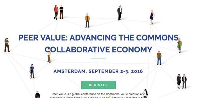 Peer Value Conference: Amsterdam, September 2-3, 2016