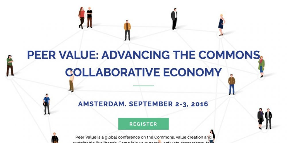 Peer Value Conference: Amsterdam, September 2-3, 2016