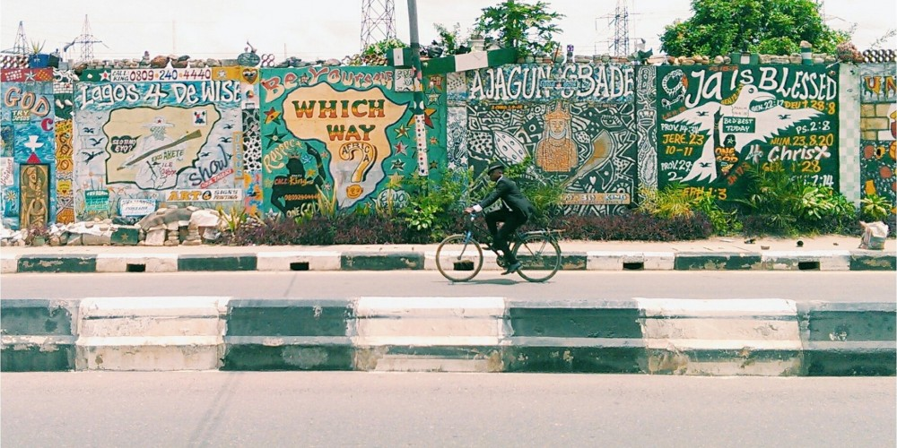 LAGOS , THE CITY ALREADY PLAYABLE : NEW WAY BY PICNICKERS ANONYMOUS